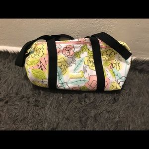 Benefit duffel bag large used once